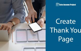 Create Thank You Page