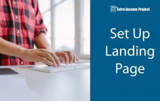 Set Up Landing Page
