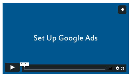 Set Up Google Ads