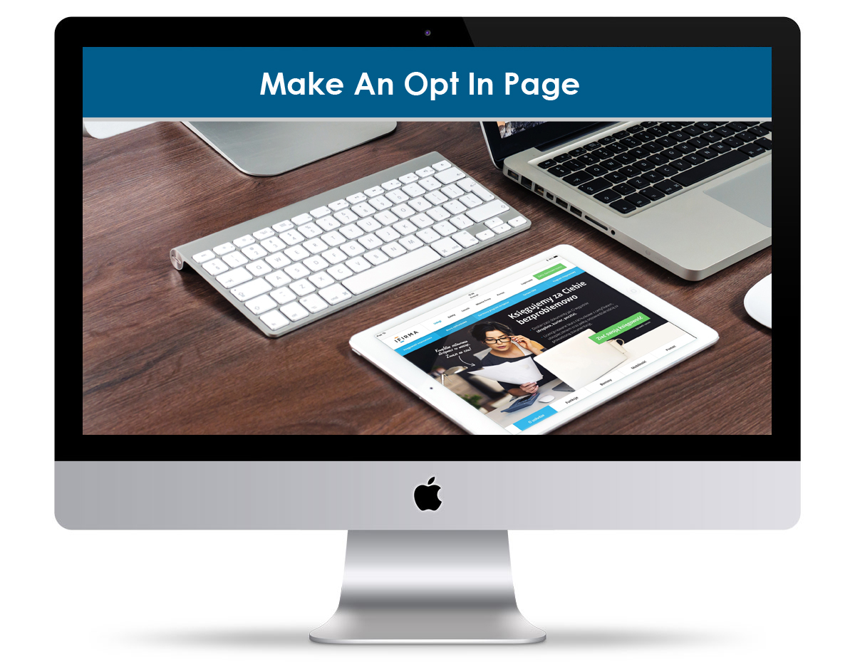 Make An Opt In Page